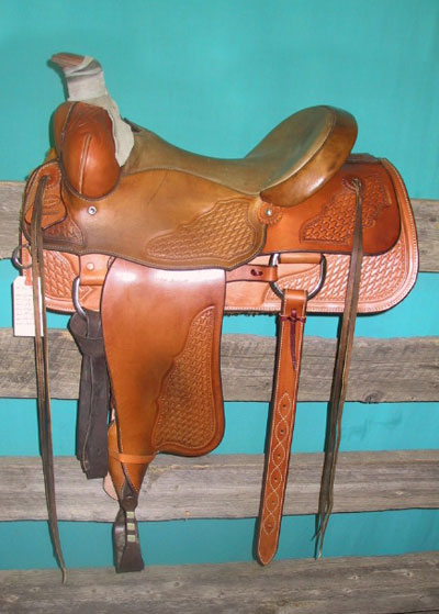 Saddle #70 - USED LOW ASSOCIATION WILLOW CREEK SADDLE